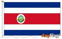 - COSTA RICA ANYFLAG RANGE - VARIOUS SIZES